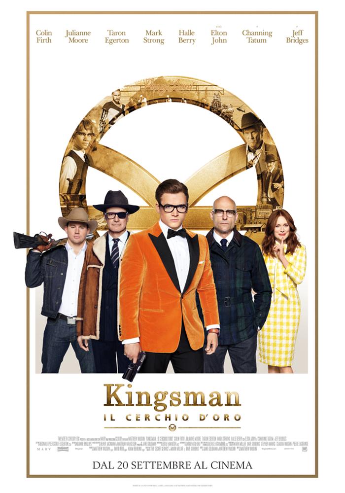 Kingsman: Il cerchio d`oro