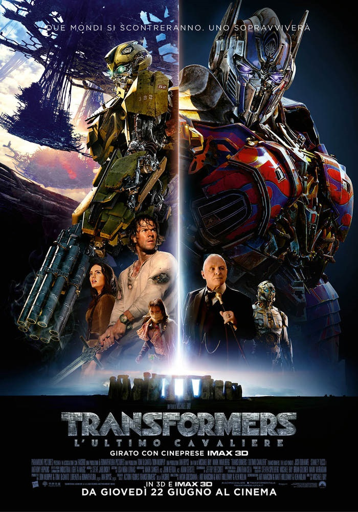 Transformers 5: L`ultimo cavaliere 3D